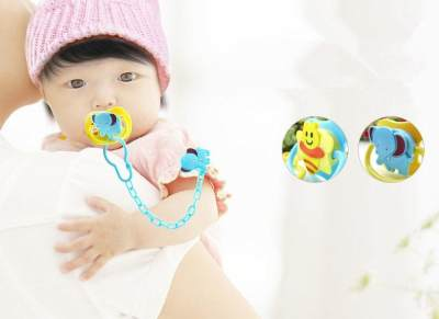 Dot Bayi dengan Gambar Karakter yang Lucu