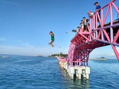 Mitos Jembatan Cinta Pulau Tidung