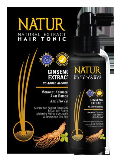 Hair Tonic Natur Gingseng