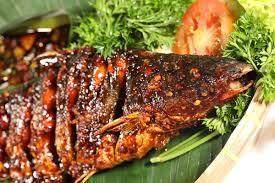 Ikan Patin Bakar