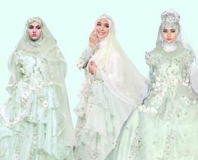 Inspirasi Gaun Pengantin Muslim Cantik dan Elegan untuk Momen Spesialmu