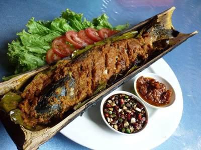 Resep Ikan Patin Bakar Bambu