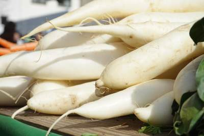Manfaat Lobak Putih