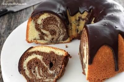 Bikin Marmer Cake tak Harus Pakai Oven, Moms, Cek Resepnya di Sini