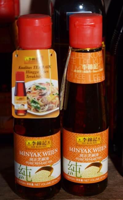 Minyak Wijen Lee Kum Kee