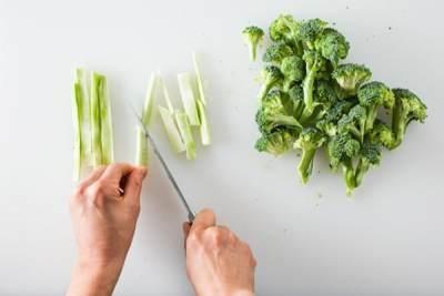Cara Memotong dan Mencuci Brokoli yang Tepat