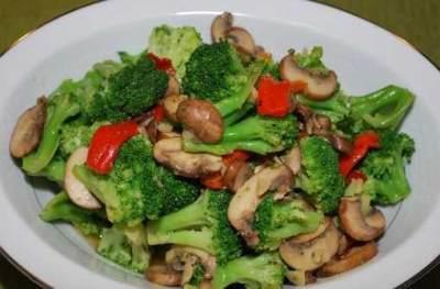 Brokoli Goreng Tepung Saus Tiram