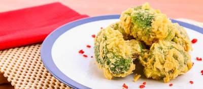 Brokoli Goreng Krispi