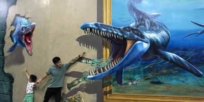 Liburan Seru Bareng Anak ke Amazing Art World, Museum 3 Dimensi di Bandung