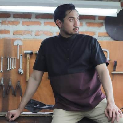 1. Baju Muslim Pria Lengan Pendek