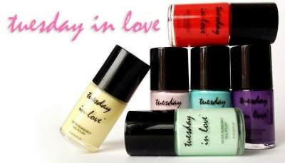 5. Tuesday In Love Water Permeable Nail Polish