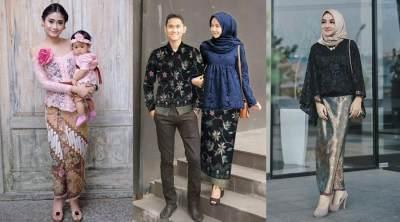 2. Setelan Rok Batik