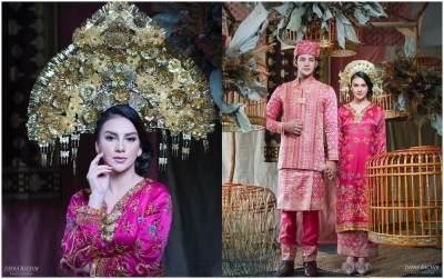 Anti Mainstream, Seperti Apa Konsep Hingga Gaun Pernikahan Irish Bella & Ammar Zoni