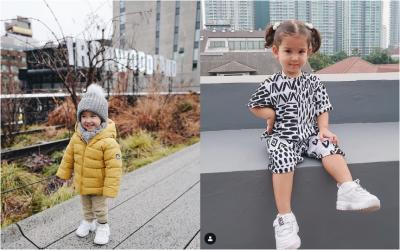 6 Inspirasi Fashion Anak Artis Indonesia, Kecil-kecil Stylish Abis!