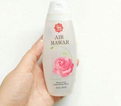 Membuat Setting Spray Murah dengan Viva Air Mawar