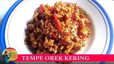 Resep Tempe Orek Kering