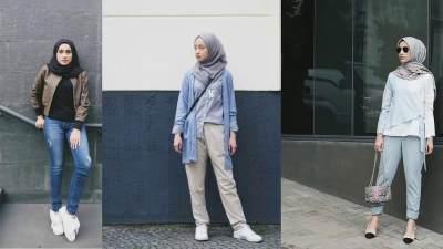 Belajar Mix n Match Yuk Moms, Kombinasi Warna Baju dan Kerudung Ini Bisa Jadi Inspirasi