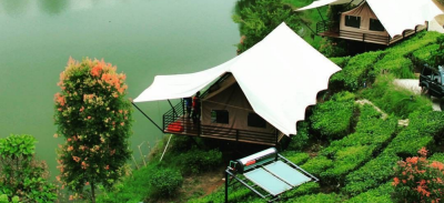 5. Glamping Lakeside Rancabali