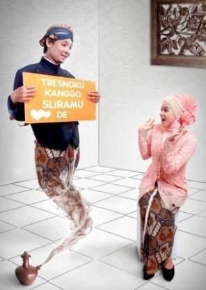 Prewedding Hijab Unik