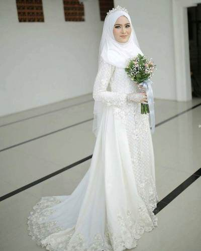 Tampil Cantik di Hari Istimewa dengan Gaun Pengantin Syar'i, Cek Inspirasinya