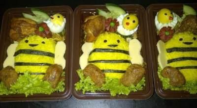 1. Nasi Kuning Bento Lucu