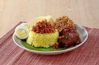 Bahan Nasi Kuning Manado
