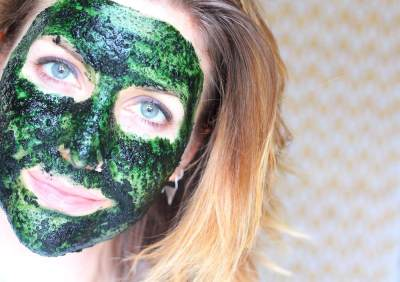 Masker Spirulina