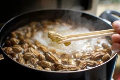 Kacang Tanah Rebus