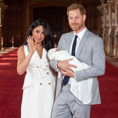 Meghan Markle dan Pangeran Harry Umumkan Nama Anaknya, Intip Foto-foto Kebahagiaan Mereka