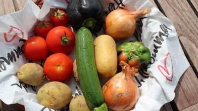 Lapisi Sayuran dengan Kertas