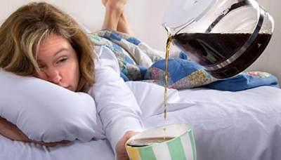 Hindari Kafein Sebelum Tidur