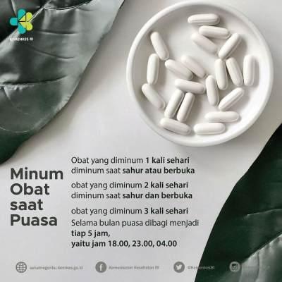 Tips Minum Obat Selama Bulan Ramadhan, Ini Caranya Agar Puasa Tetap Lancar