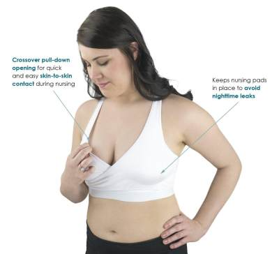 Crossover Nursing Bra