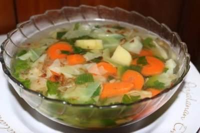 1. Sayur Sop, Tempe dan Tahu