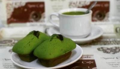 Kue Balok Greentea