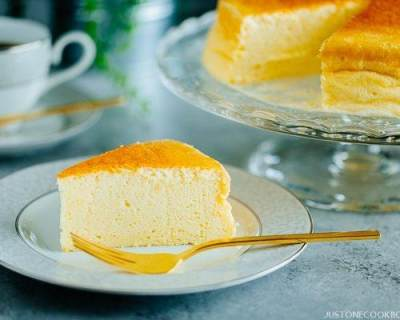 Cara Membuat Japanese Cotton Cheese Cake