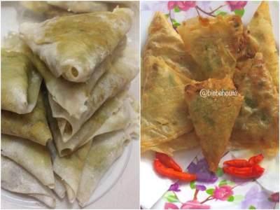 Resep Samosa Daging Ayam Bumbu Kari