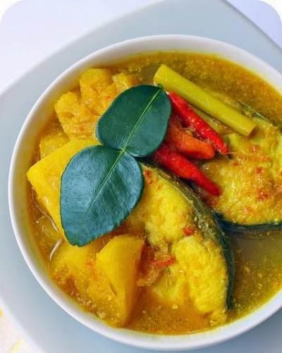 Ikan Tongkol Kuah Kuning