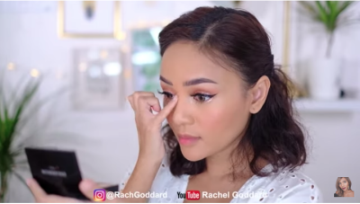 Tutorial Makeup Lebaran Paripurna dengan Budget Murah Ala Rachel Goddard