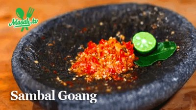 4. Resep Sambal Goang