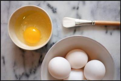 2. Masker Wajah Saffron Dan Putih Telur