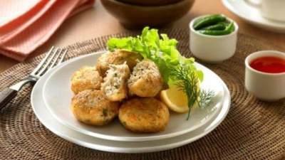 Perkedel Bihun Daging Cincang