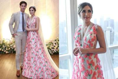 Mengintip Gaun Cantik Jessica Iskandar Saat Lamaran yang Jadi Perbincangan Netizen