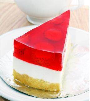 Cake Tumpuk Puding Strawberry