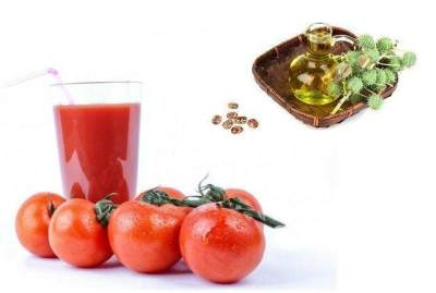 Masker Tomat dan Castor Oil untuk Melebatkan Rambut