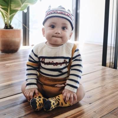 Inspirasi Outfit Bayi Laki-Laki ala Xabiru Anak Rachel Vennya, Gemes Banget!