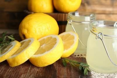 5. Lidah Buaya dan Lemon