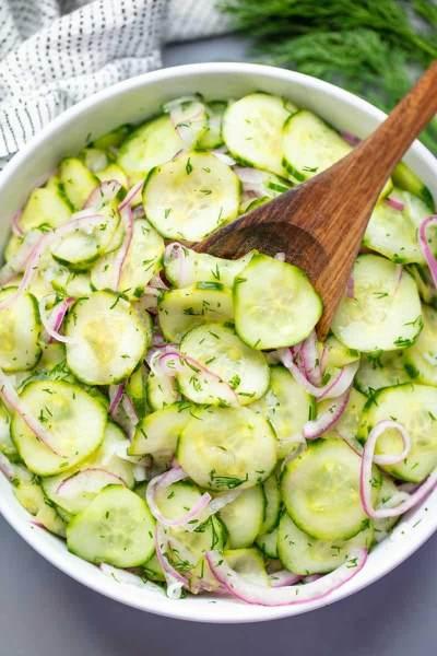 Resep Praktis Salad Mentimun