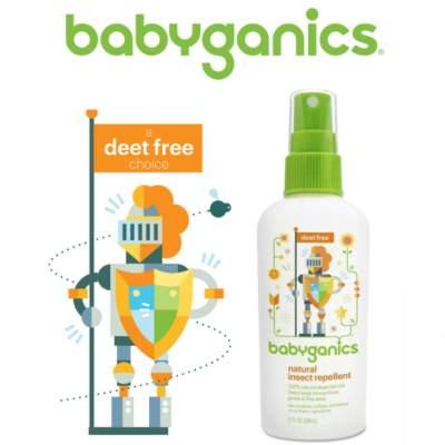 Natural Insect Repellent Babyganics