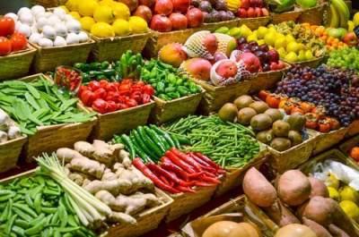 2. Buah dan Sayuran